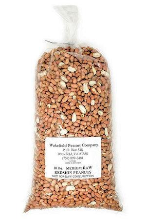Wakefield Peanut Company Raw Peanuts - 10 lbs