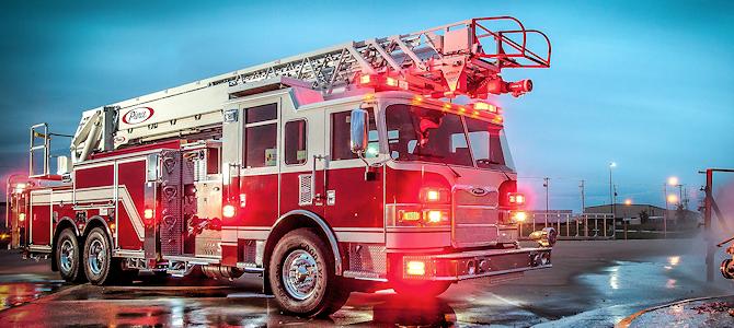 Firetruck - Photo by Lane Pearman