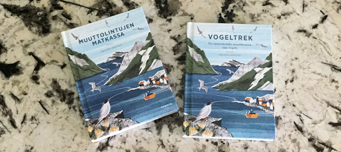 Finnish and Dutch Editions of Migration - Photo by Melissa Mayntz