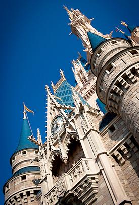 Disney Castle Perspective - Photo by Josh Hallett