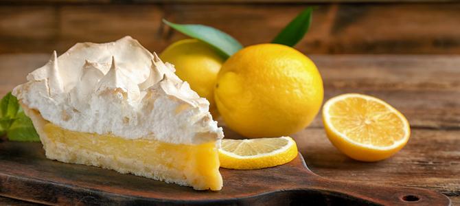 Lemon Chiffon Pie - Photo by Kurman Communications, Inc.