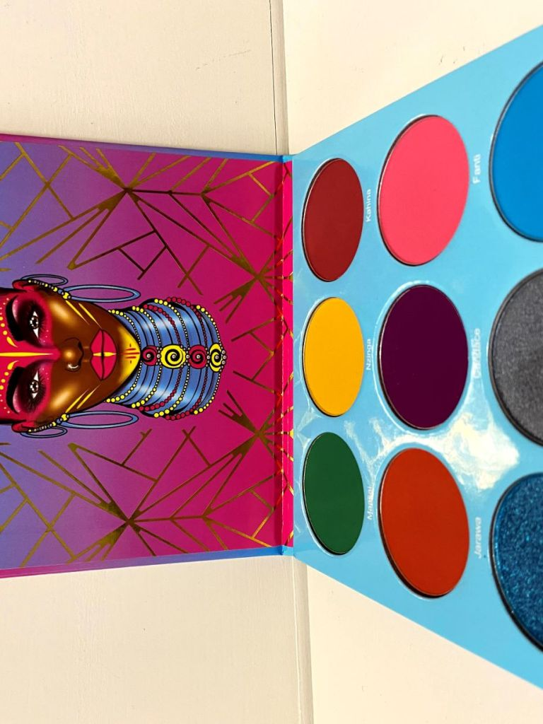 Juvia's Place Warrior III palette
