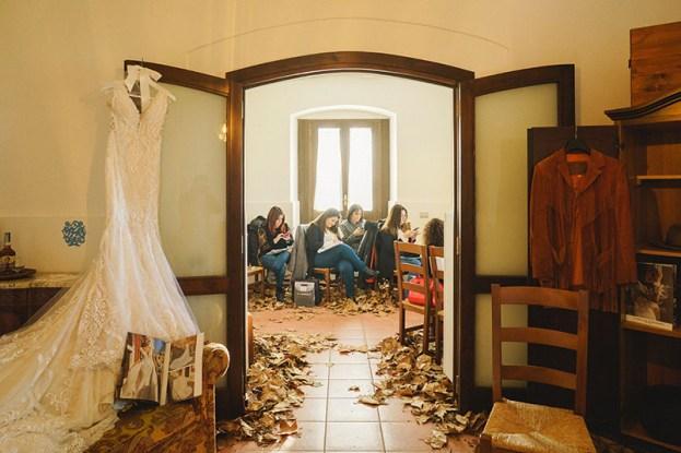 Gli angoli della Casella, allestiti da Wedding Amalfi