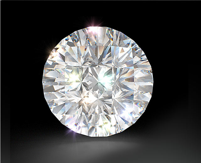 The Most Sparkling Round Diamond Divine cut A Bez Ambar Invention