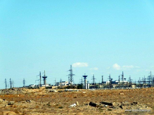 Bajkonur - zdjęcie zrobione z daleka