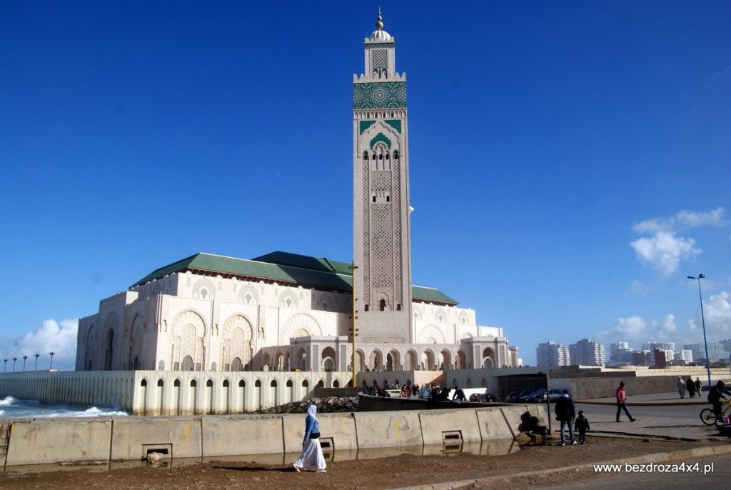 Casablanaka - Meczet Hasssana II