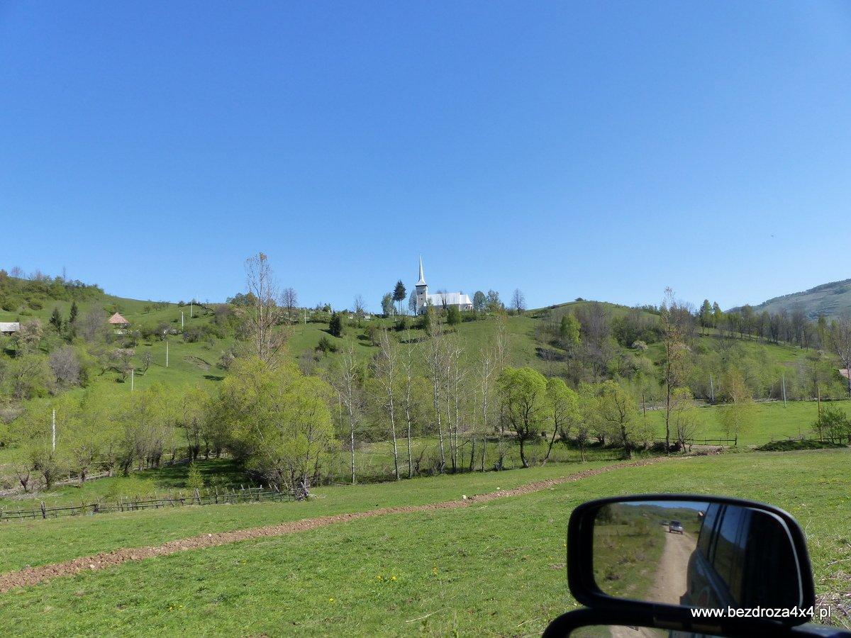 Rumunia - wioseczki w górach