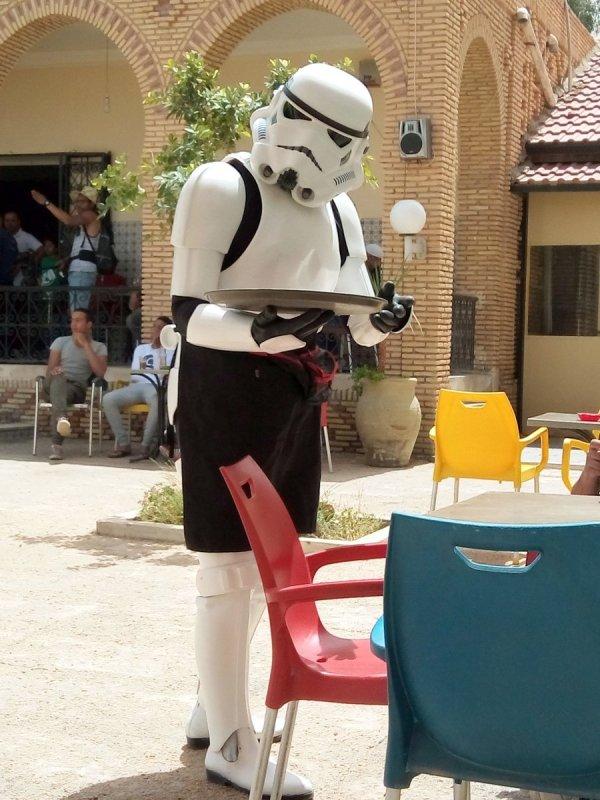 Kelner - klon, Gwiezdne Wojny