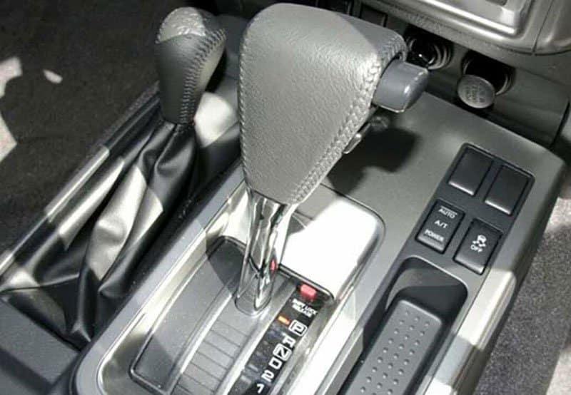 Y61 Nissan Patrol gearbox