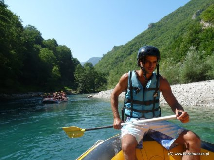 Czarnogóra 2011 - spływ ponotonowy