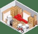 Maison ou matériel encombrant