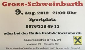 6. Dirndl Kirtag des SV Groß-Schweinbarth