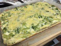 Pohánkový Quiche (francúzsky koláč) s brokolicou