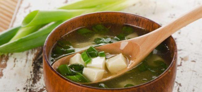 miso polievka