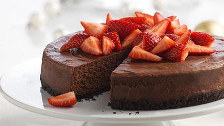 bezlepková cheescake torta