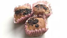 Gaštanové muffiny z pohánkovej múky