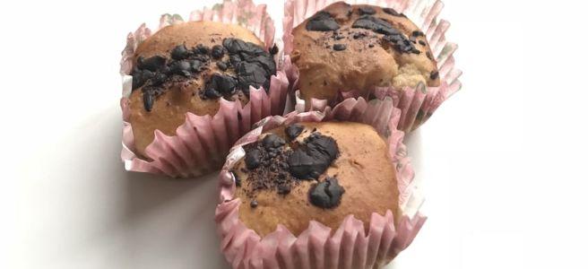 gaštanové muffiny