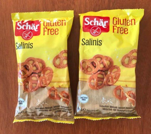 bezlepkové praclíky salinis schär