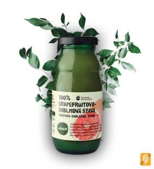 zdravo grapefruitovo jablková šťava