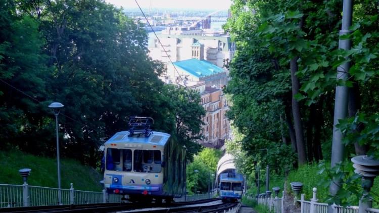 kabelbaan kabeltrein - Bezoek Kiev
