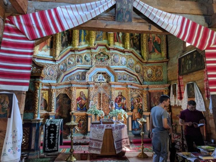 Interieur kerk Pirogovo museum - Bezoek Kiev