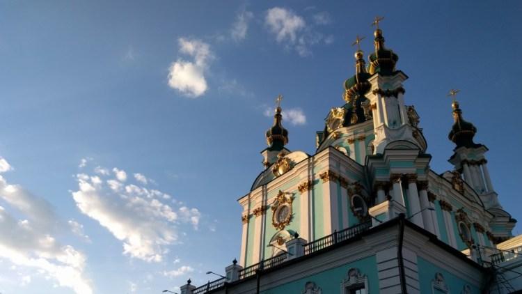 Sint Andreaskerk - Bezoek Kiev