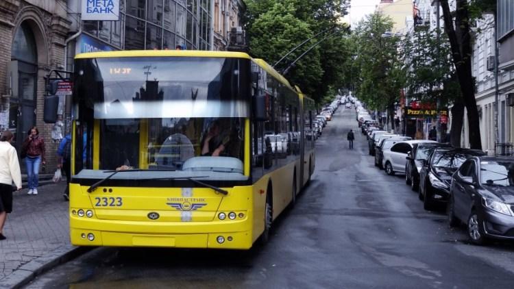 bus trolleybus openbaar vervoer - Bezoek Kiev