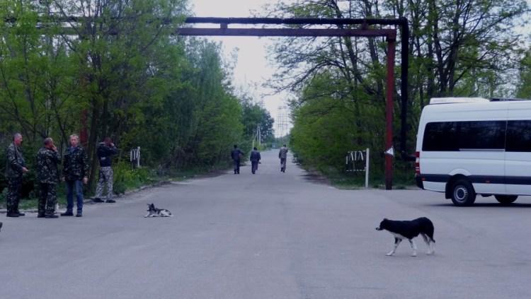 Tjernobyl bewoners - Bezoek Kiev