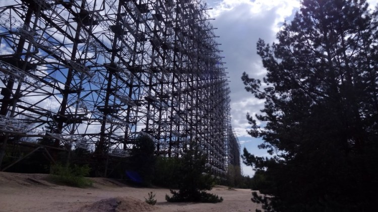 Tjernobyl Doega radarsysteem - Bezoek Kiev