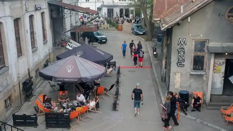 Tytano cafe restaurants in Krakow - Bezoek Krakau