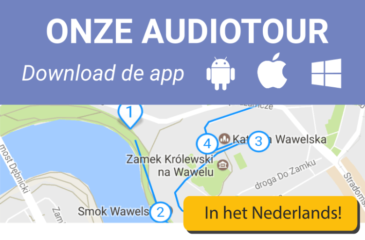 Nederlandse audioguide Krakau