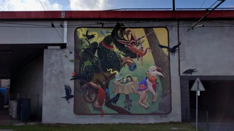 Streetart - Bezoek Krakau