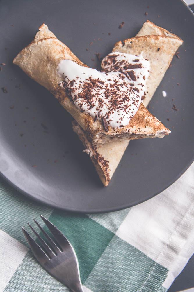dietetyczne naleśniki na słodko