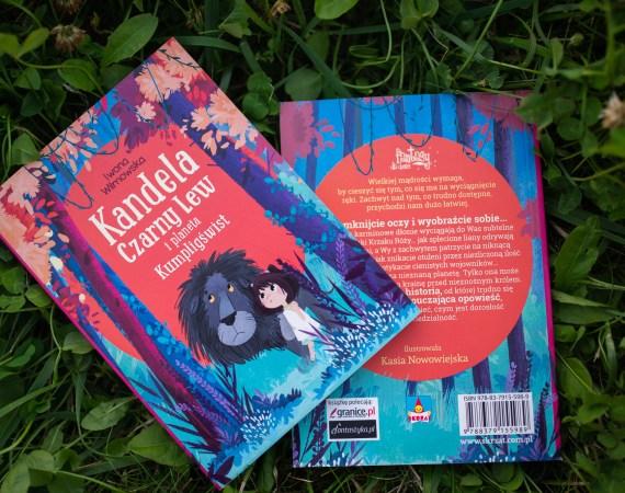 Kandela, Czarny Lew i planeta Kumpligświst – fantastyka dla dzieci może być cudna
