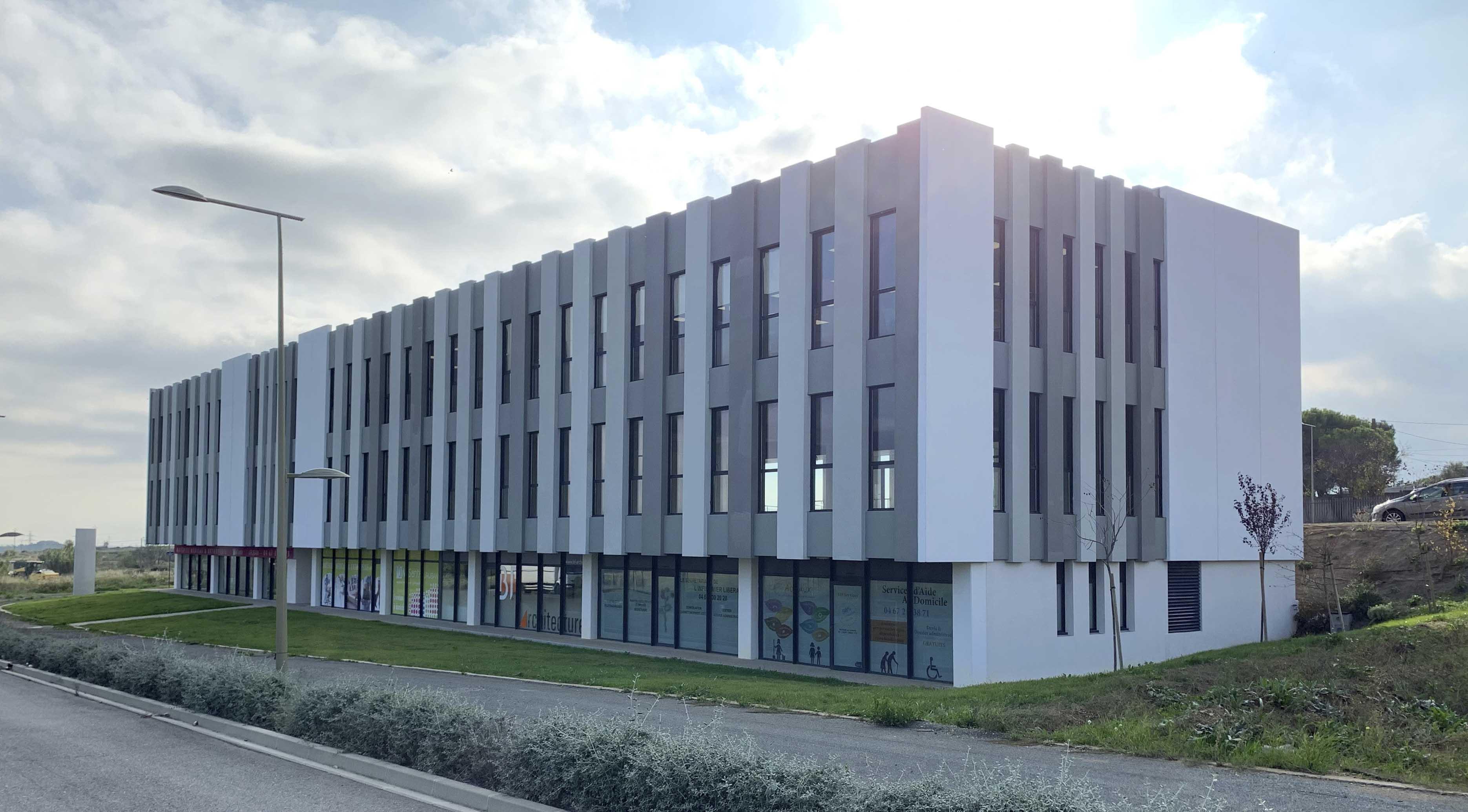 Immeuble le Ruban Béziers BF Architecture 8