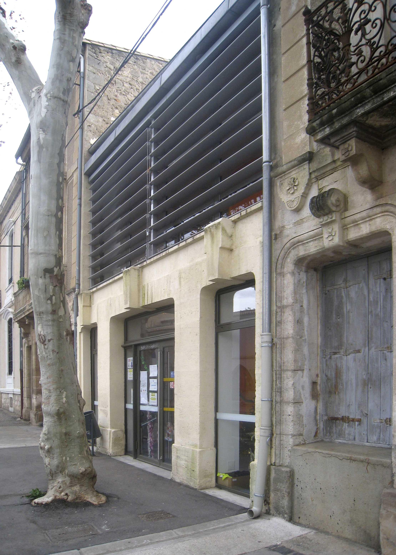Réhabilitation cantine Saint André BF Architecture 1