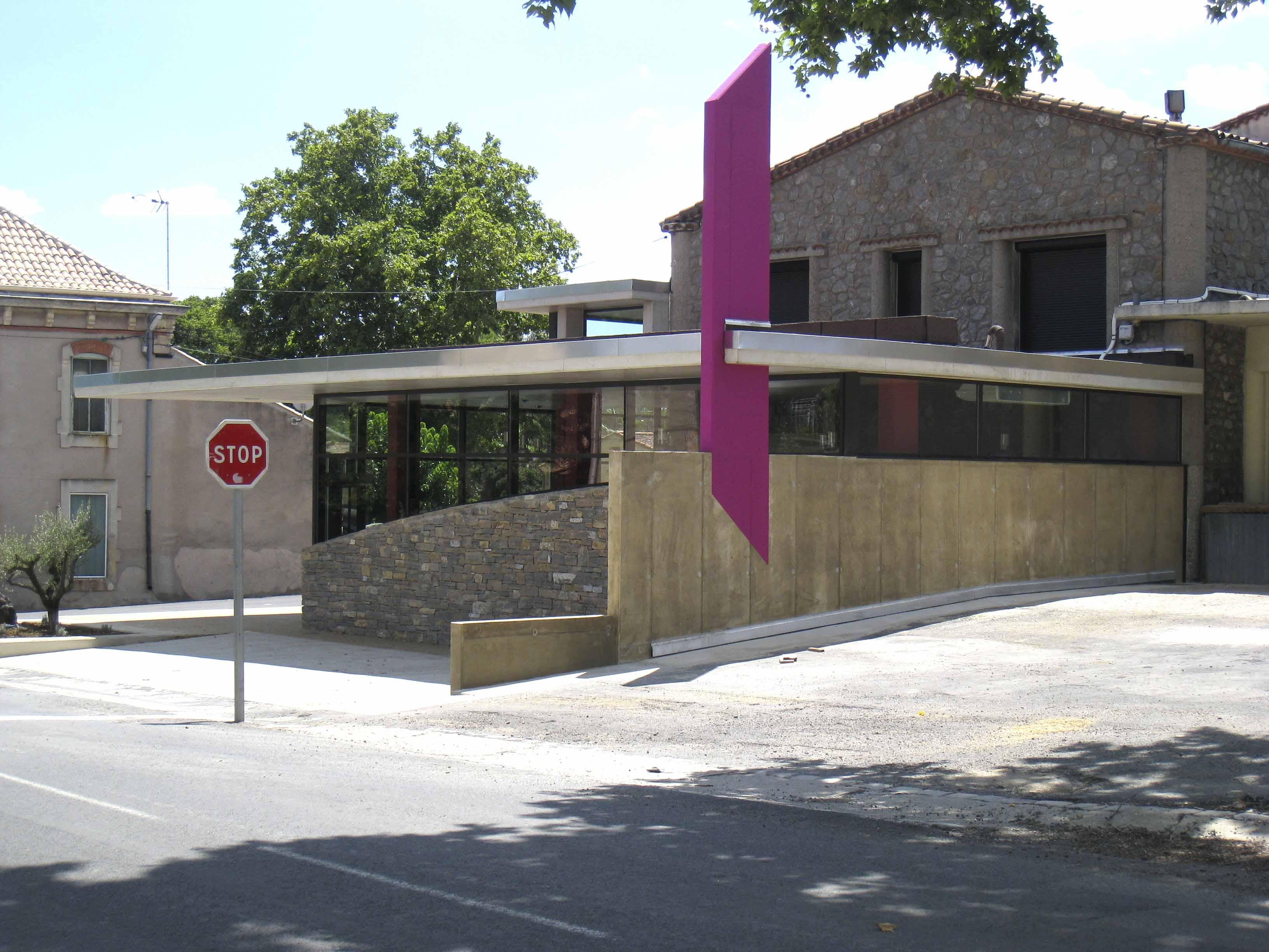 Caveau Fontès Hérault BF Architecture 6