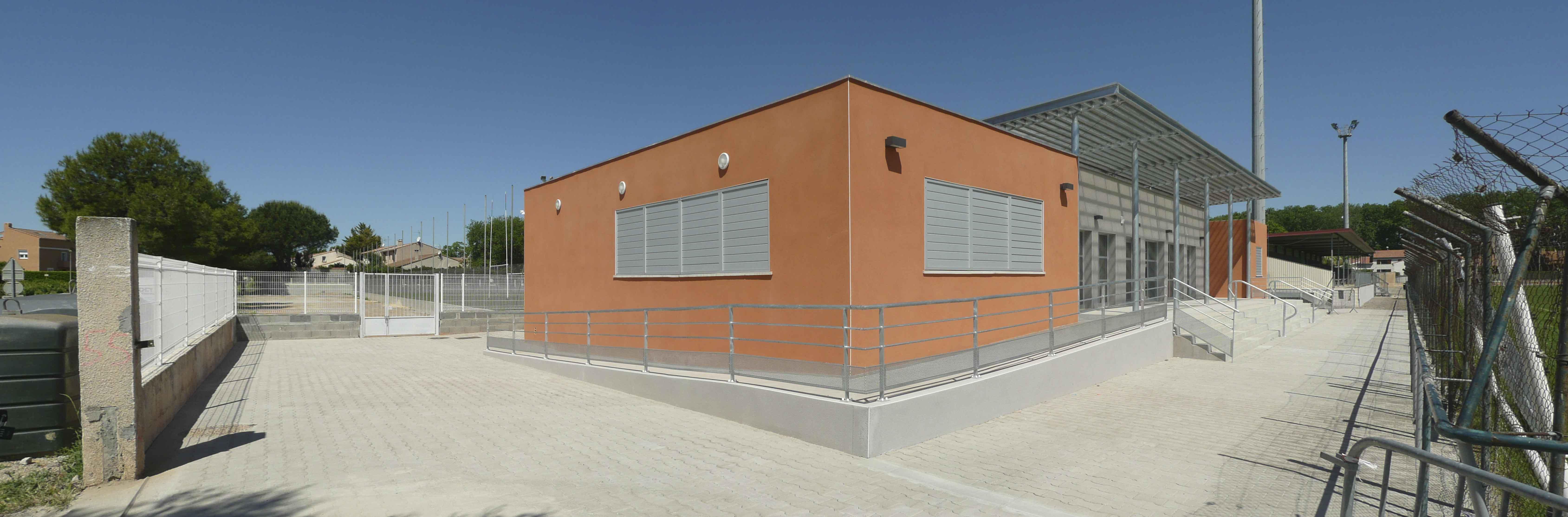 Club House salle polyvalente Hérault BF architecture 3