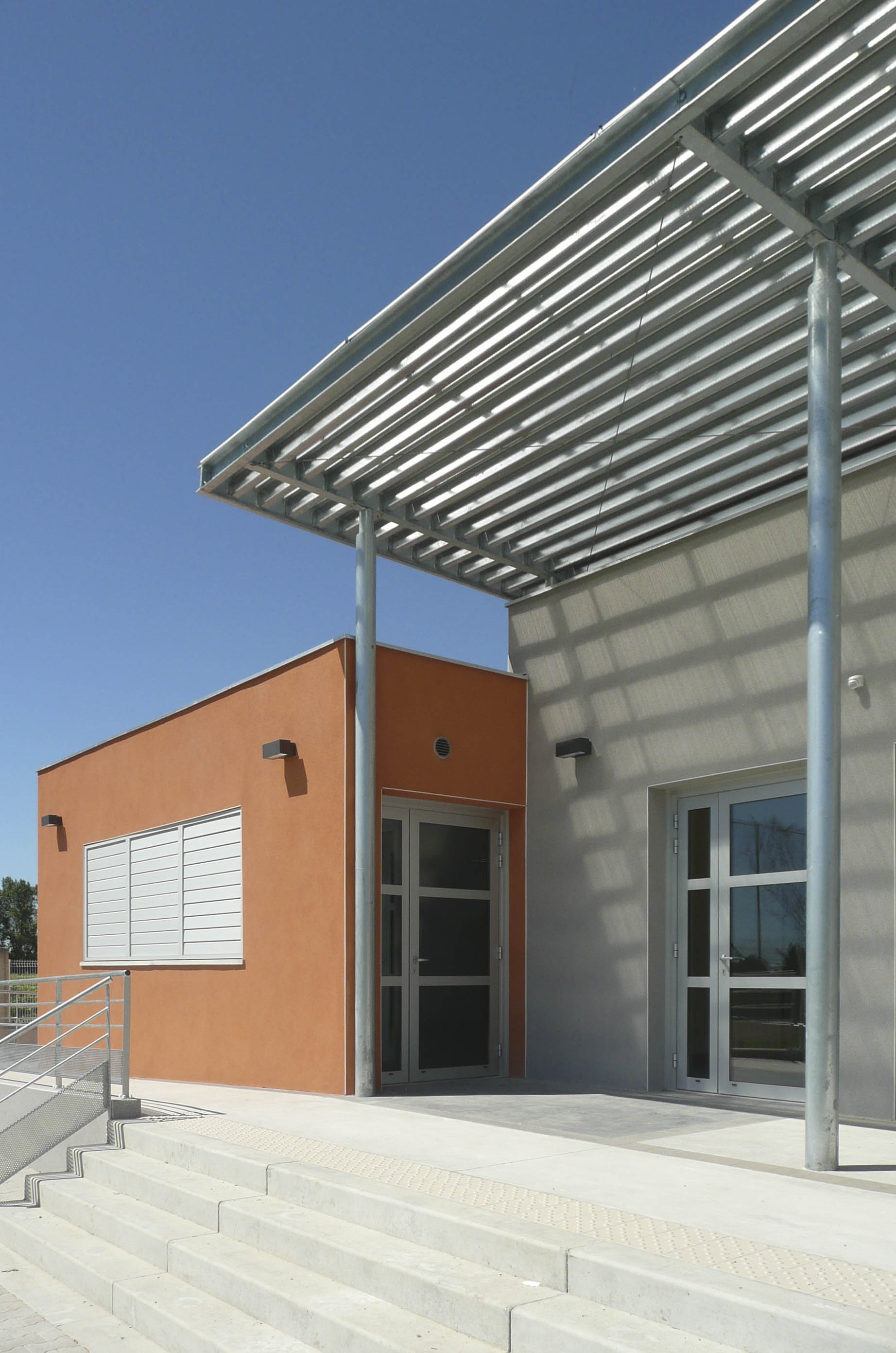 Club House salle polyvalente Hérault BF architecture 5