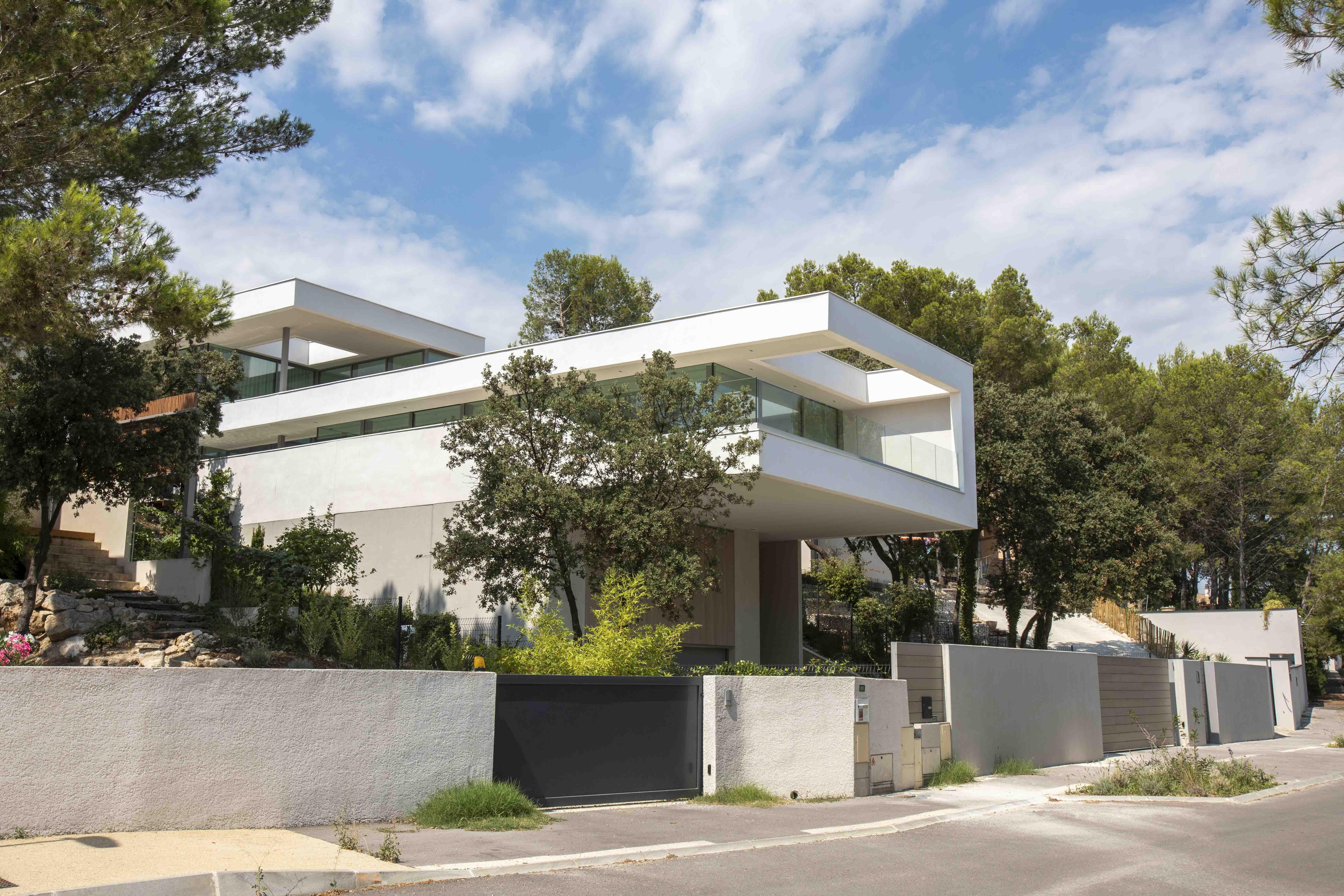 Maison contemporaine Hérault BF Architecture 3