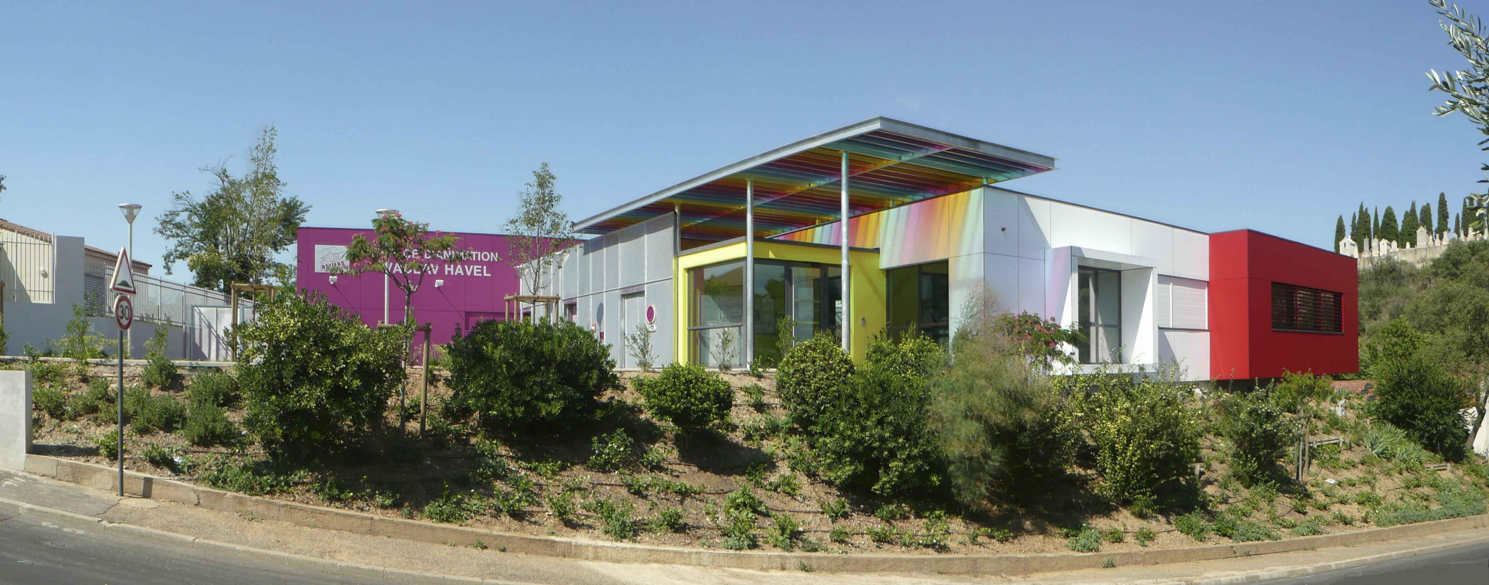Maison de quartier Béziers BF Architecture 1
