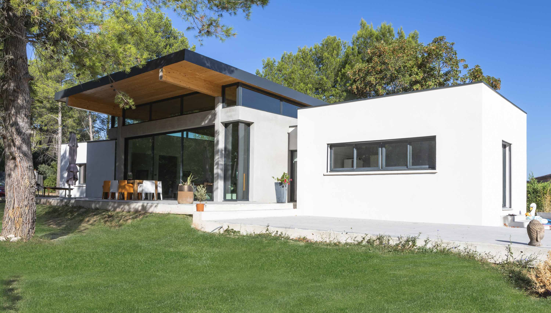 Maison individuelle Bouche du Rhône BF Architecture 1