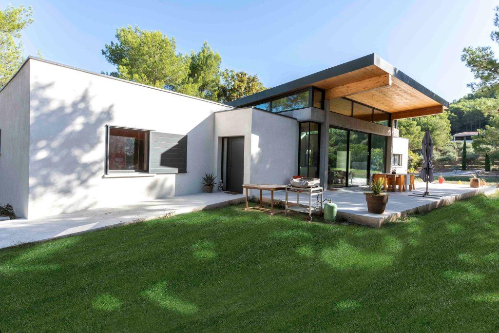 Maison individuelle Bouche du Rhône BF Architecture 2