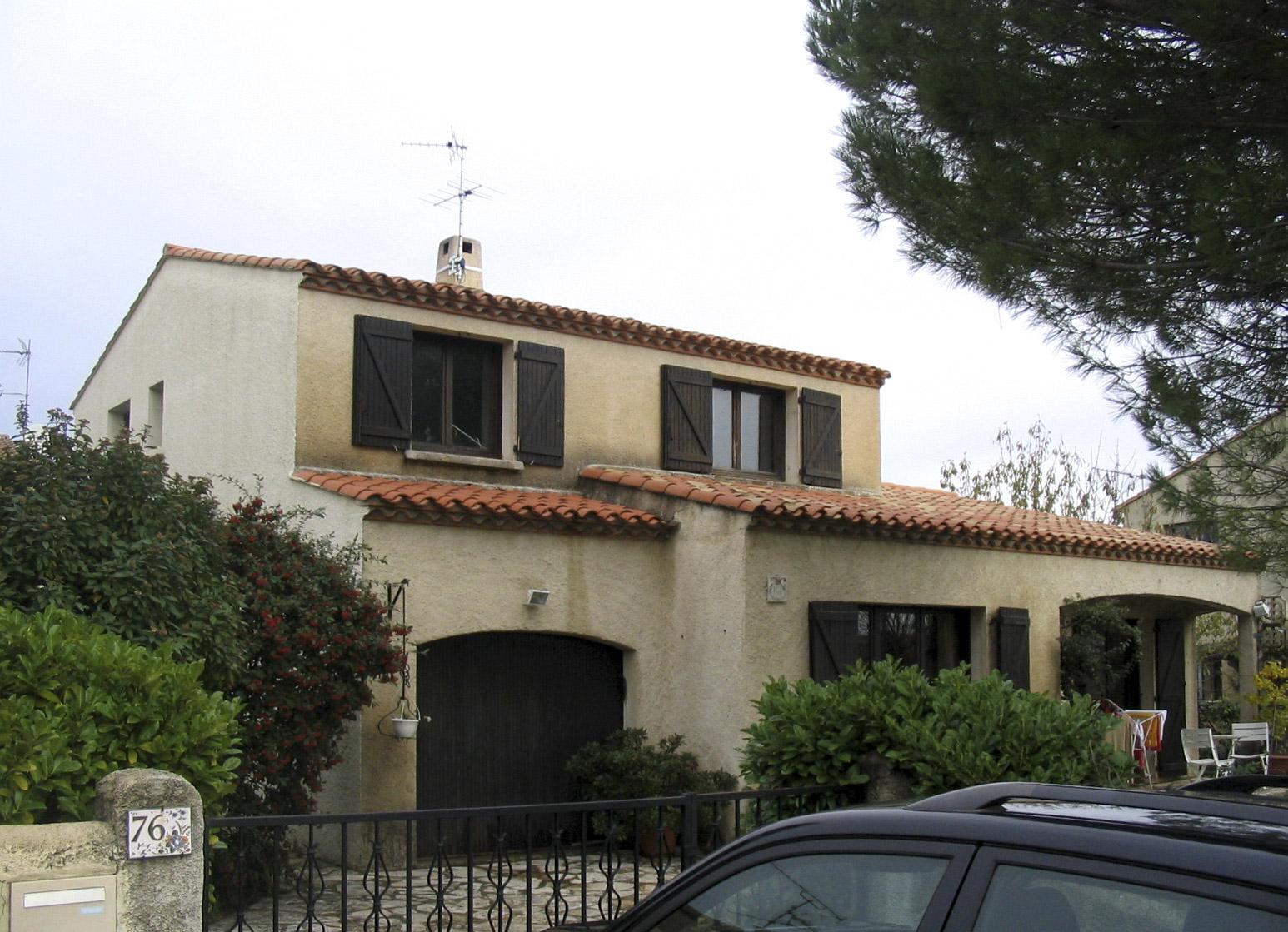 Maison individuelle réhabilitation Montpellier BF architecture 3