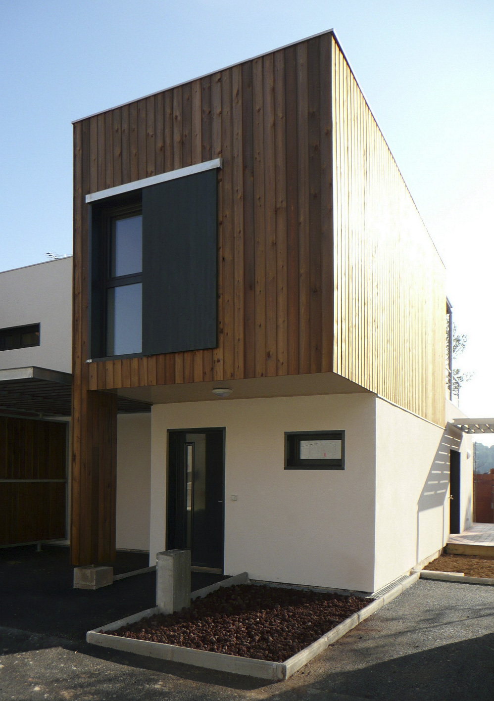 Maison mitoyenne ossature bois Hérault BF Architecture 6