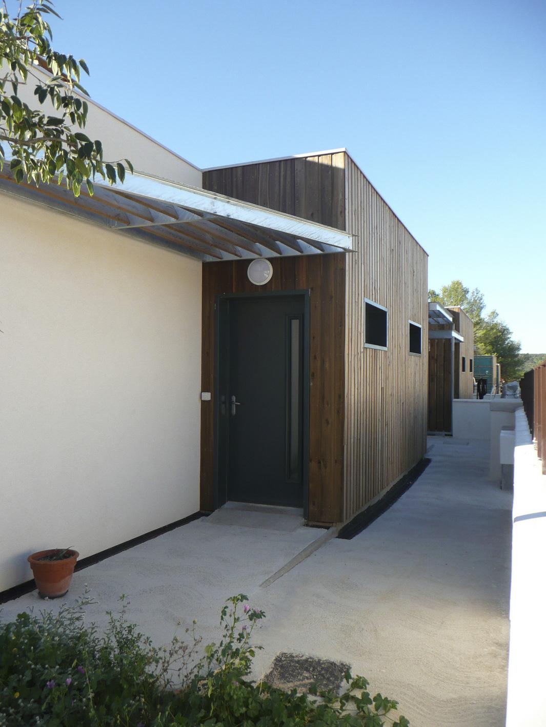 Maison mitoyenne ossature bois Hérault BF Architecture 8