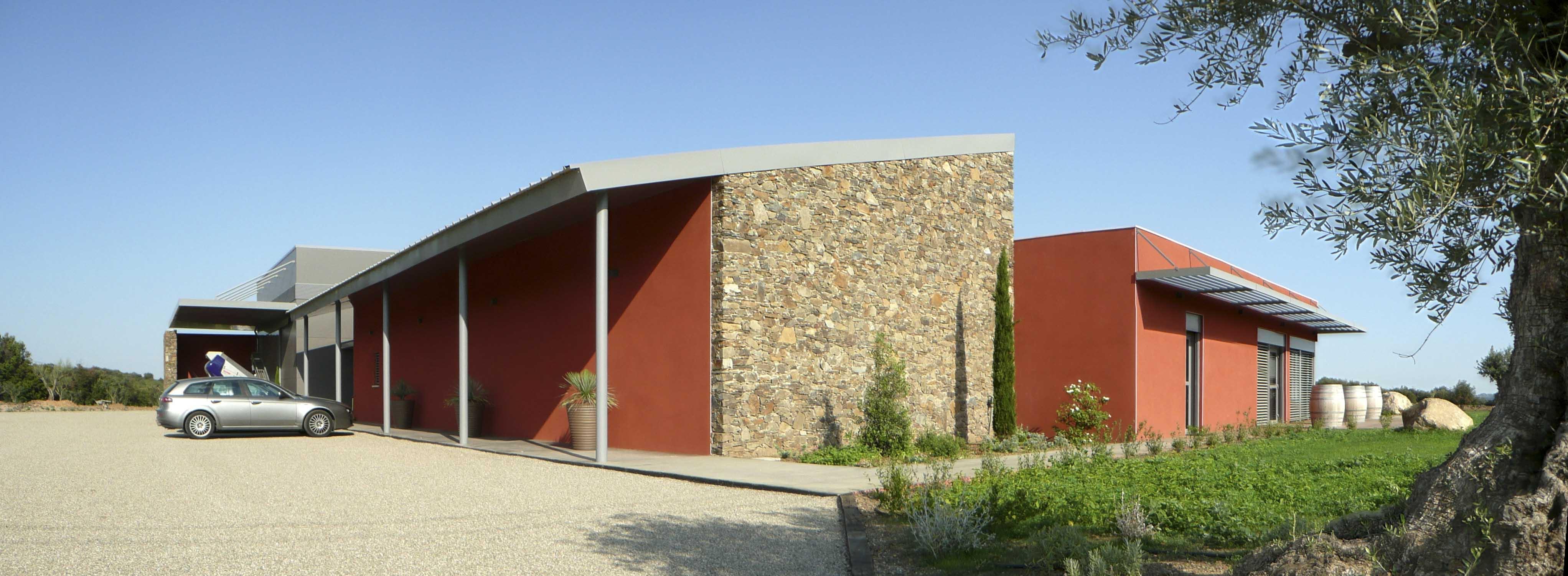 Mas Gabinele Hérault BF Architecture viticole 2