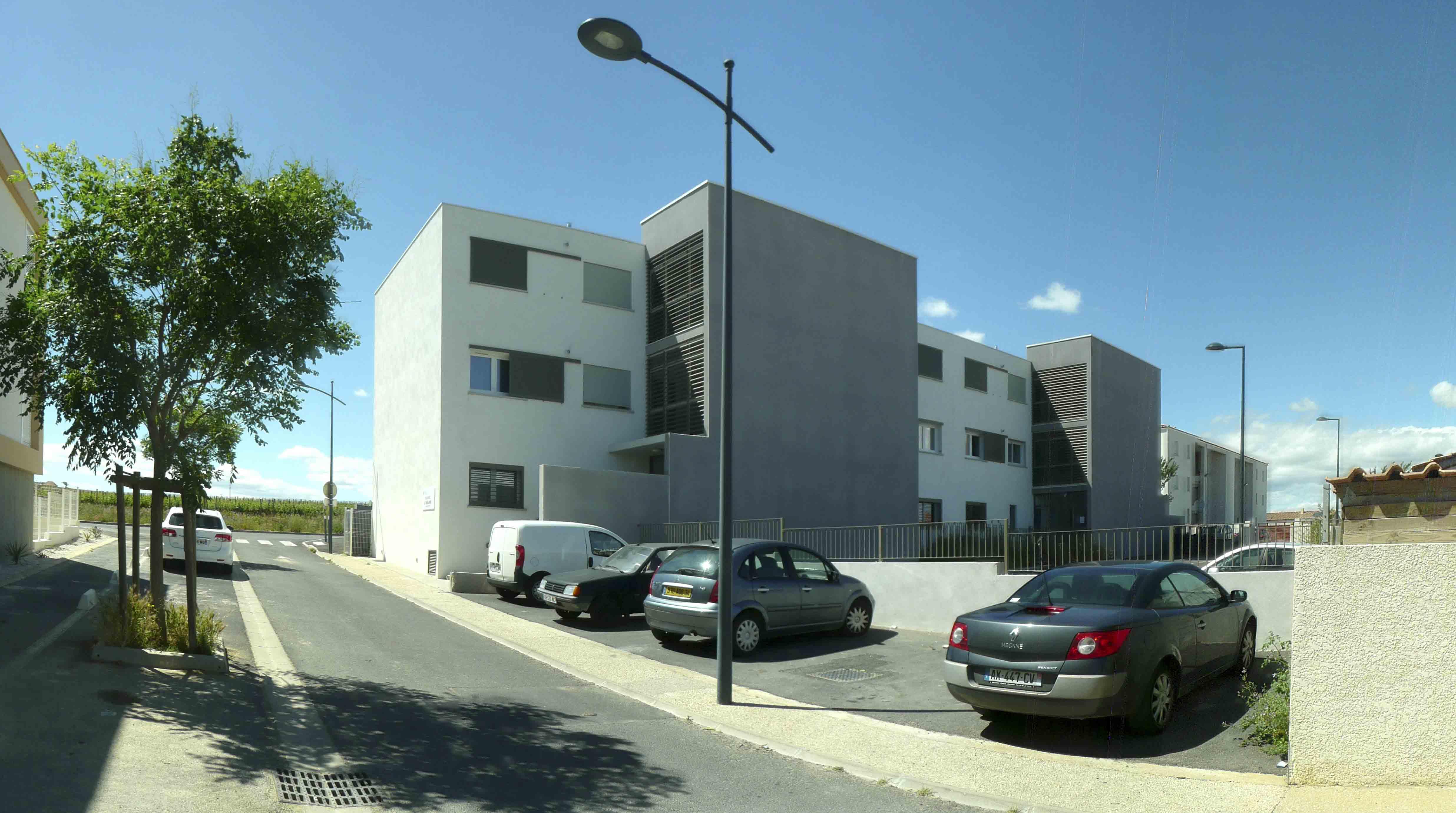 Architecture Résidence Le Verlaine Sauvian 4