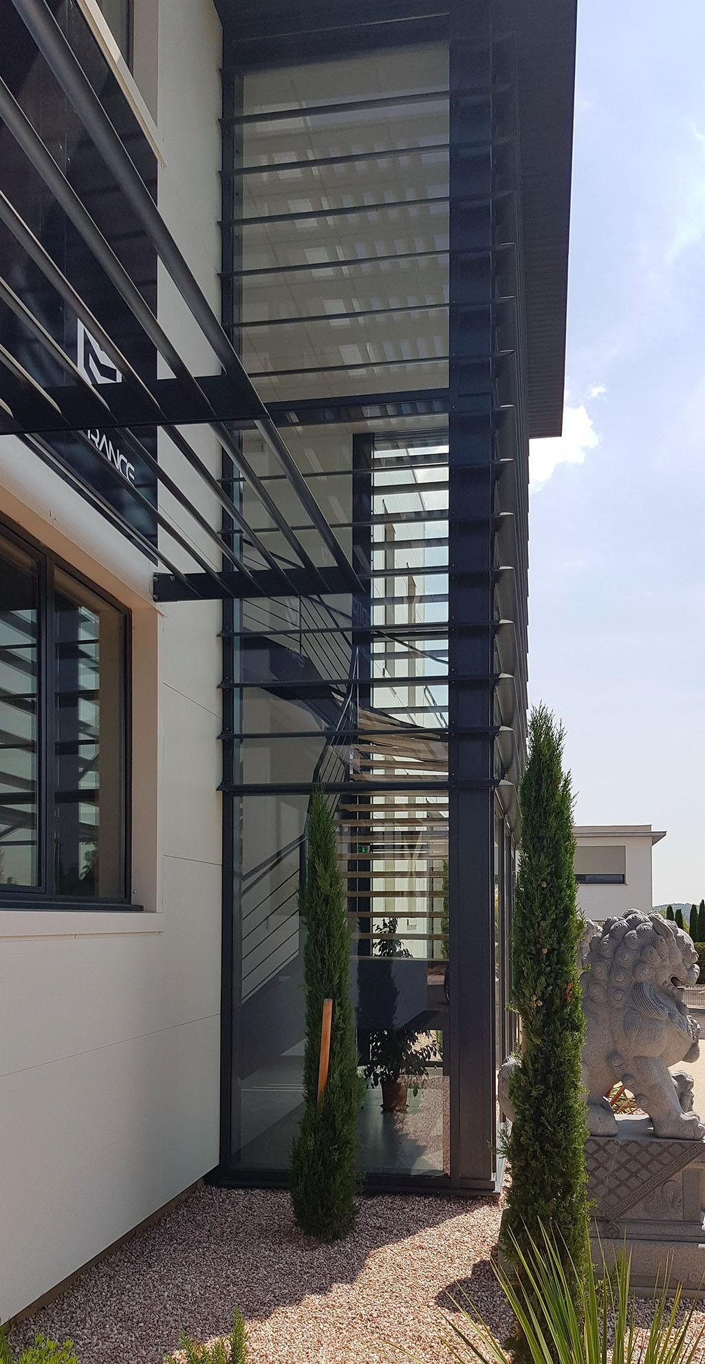 Architecture tertiaire - DragonSport BF Architecture 6