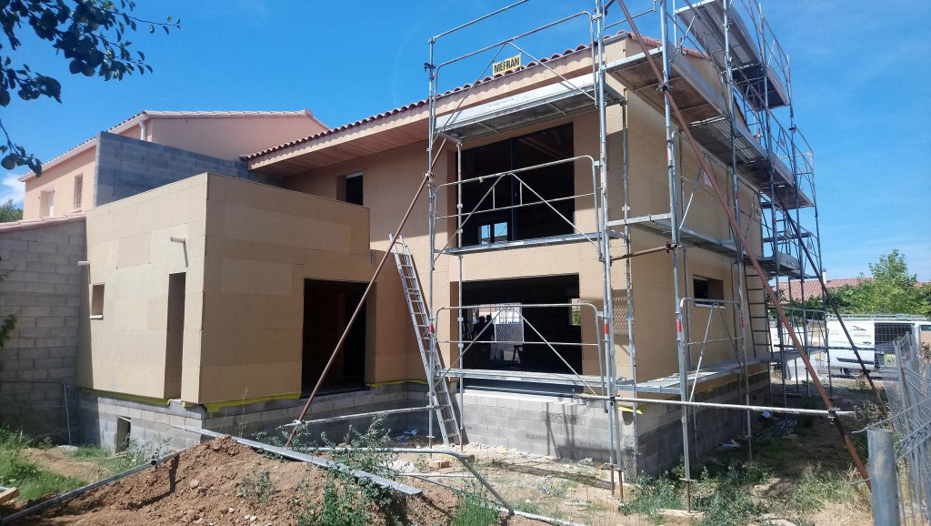Chantier maison individuelle BF Architecture 2